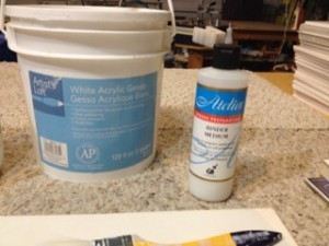 2 Binder medium & Gesso