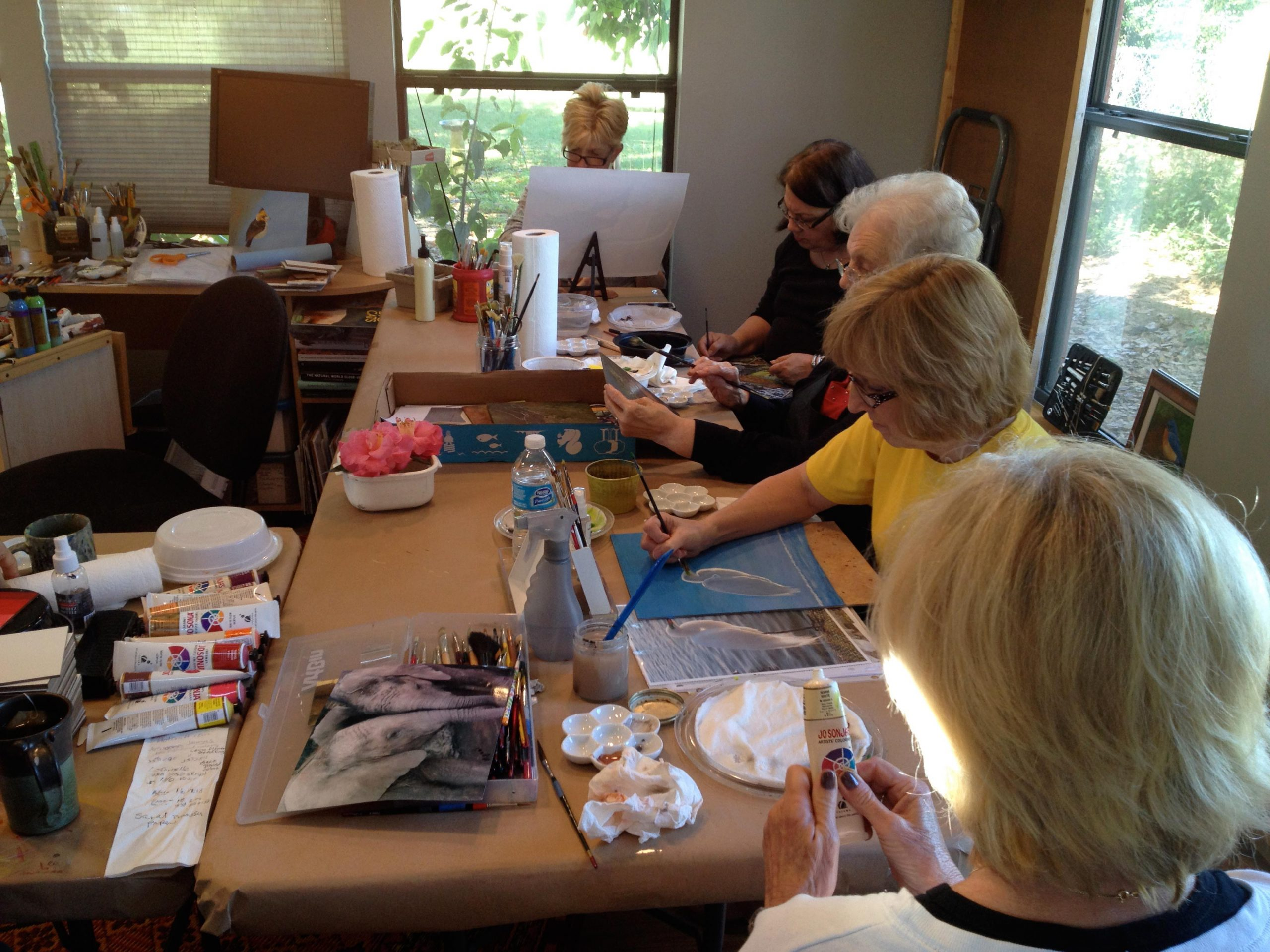 1 on 1 Painting Workshop