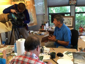 PBS WUCF TV Artisodes features Stephen at 8:00 PM 02/05/15