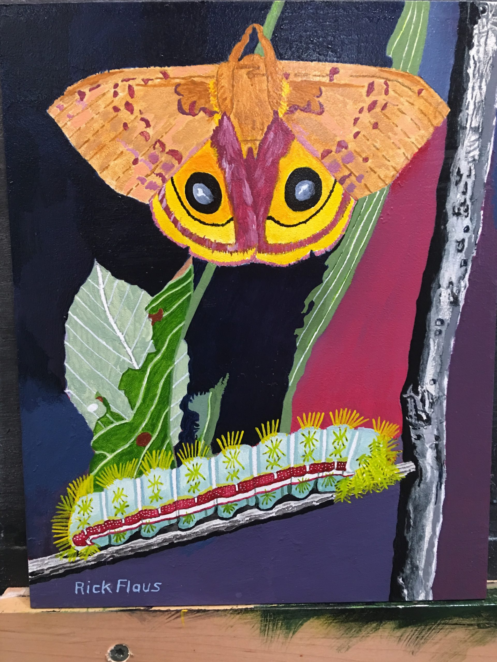 Paintings by Workshop Students