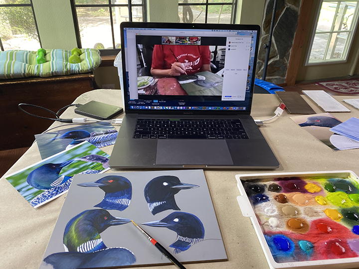 Online Artists Group Workshop Wednesday October 14th 1-4pm