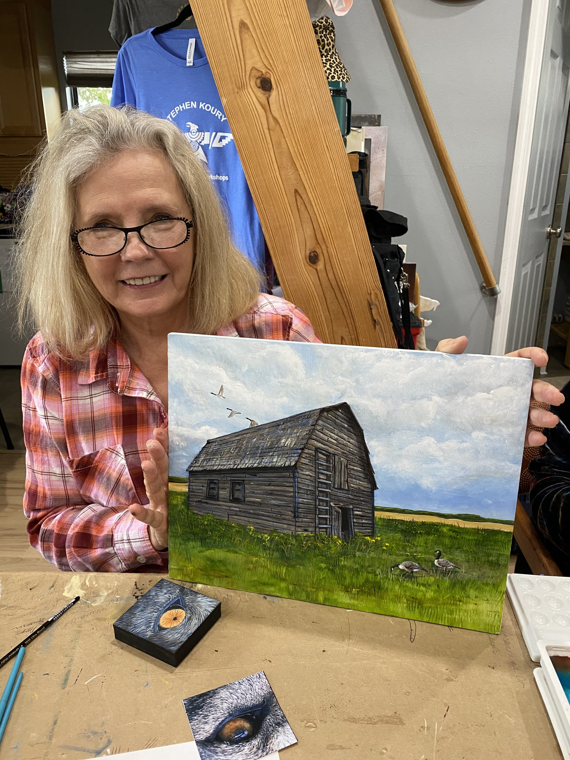 1 ON 1 ARTIST PAINTING WORKSHOP DEC 18-20
