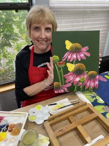 1 ON 1 ARTIST PAINTING WORKSHOP DEC. 4-6